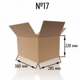 Гофроящик № 17 бурый, Т-23, профиль C
